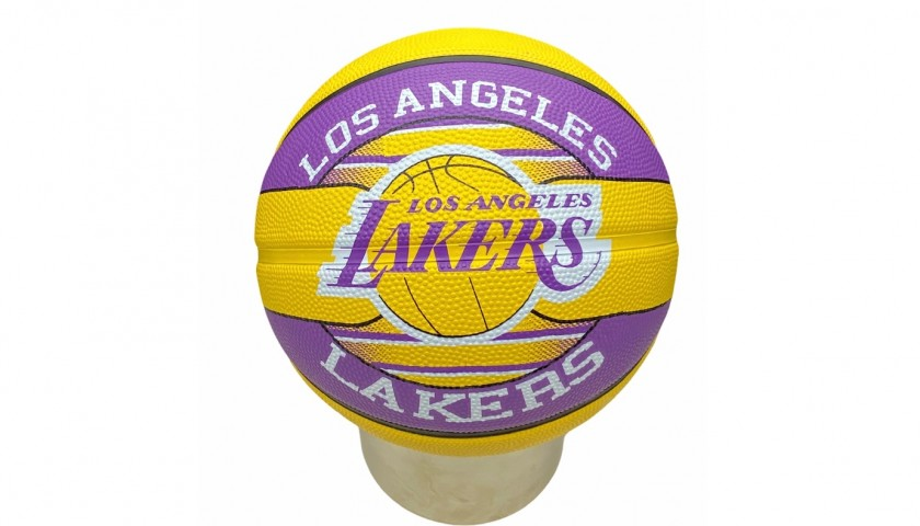 Official Los Angeles Lakers Basketball - Signed by Kobe and LeBron