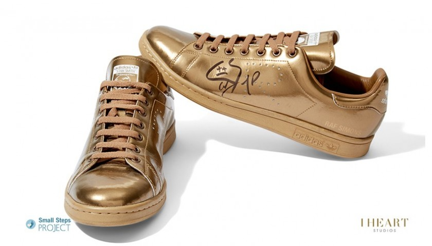 The Chainsmokers Signed Shoes