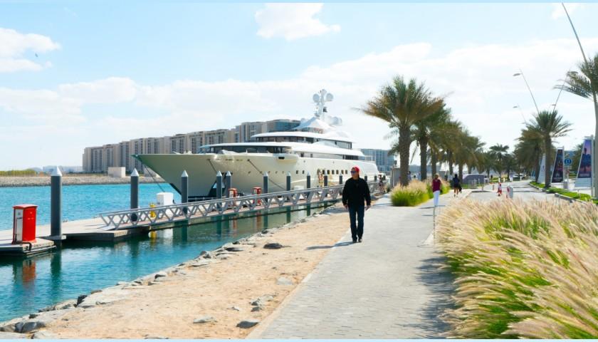 Abu Dhabi Grand Prix Weekend Aboard a Superyacht for 2