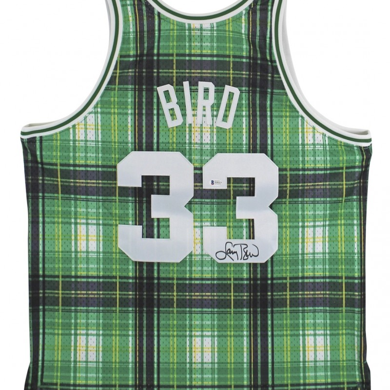 Larry Bird Signed Authentic 1985 Mitchell & Ness Jersey