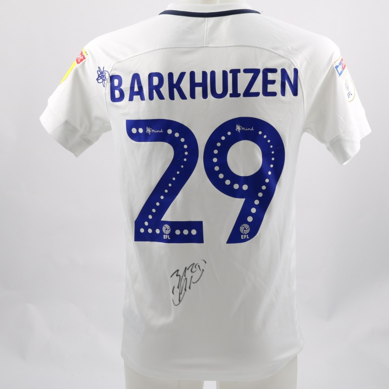 Barkhuizen's Preston Worn and Signed Poppy Shirt