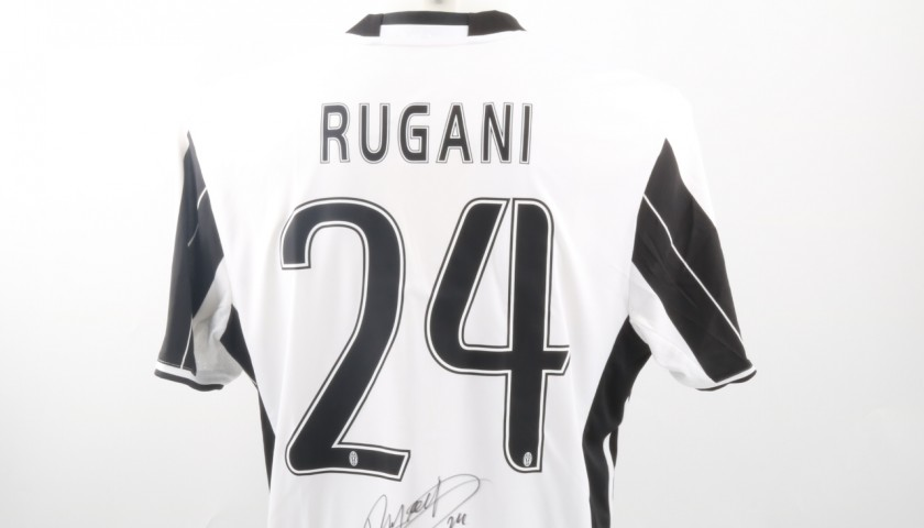 Official Rugani Juventus Shirt, Champions League 2016/17 - Signed ...