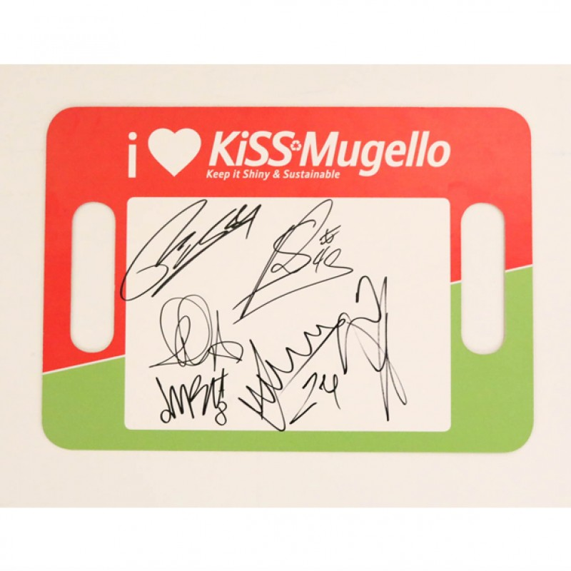 Signed KiSS Mugello Banner