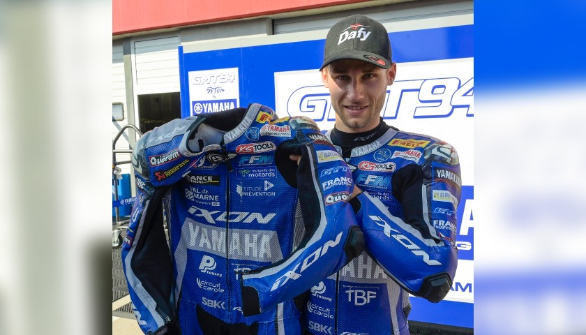 Racing Suit Worn by Jules Cluzel at Portimao