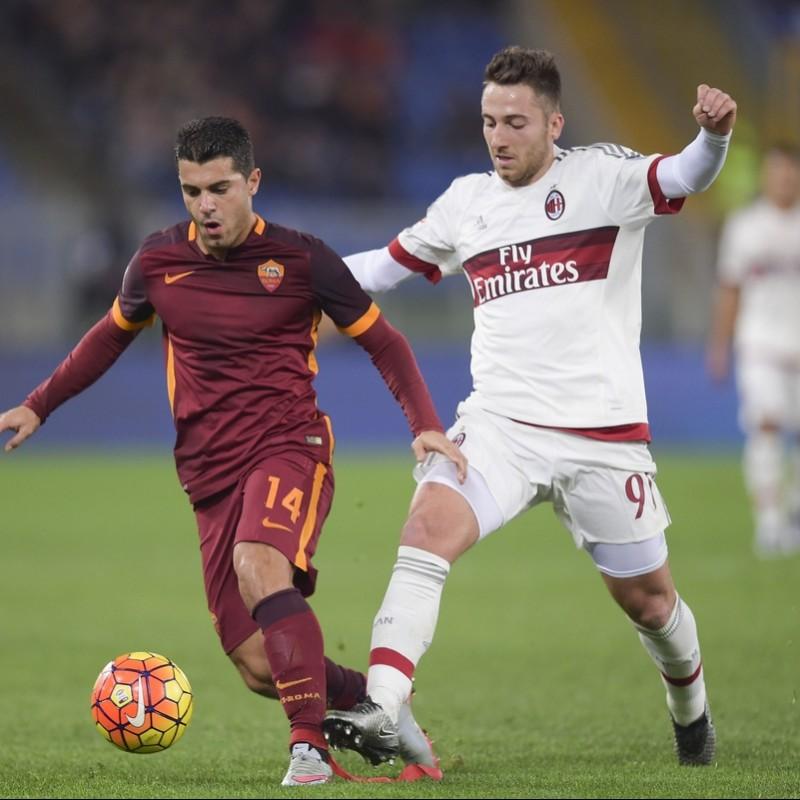 Bertolacci's Milan Worn and Signed Shirt, 2015/16