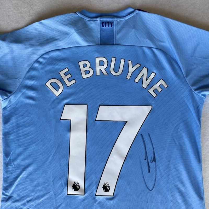 De Bruyne's Manchester City Signed Shirt