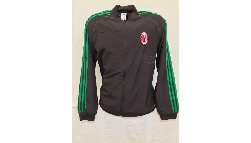 Official Milan Track Jacket Signed by Van Basten