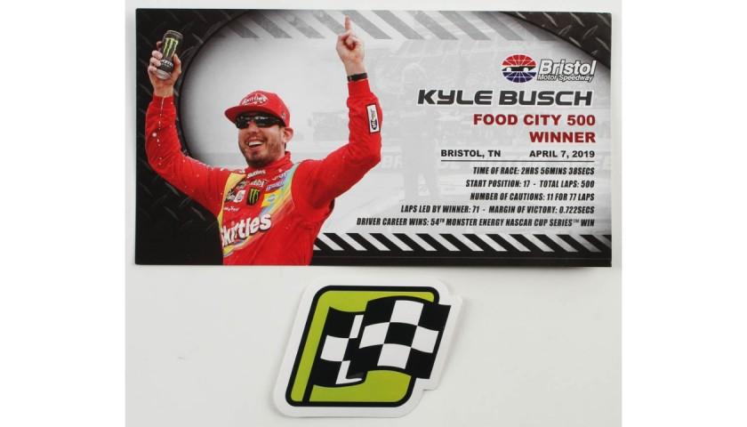Kyle Busch Signed 2019 NASCAR #18 Car