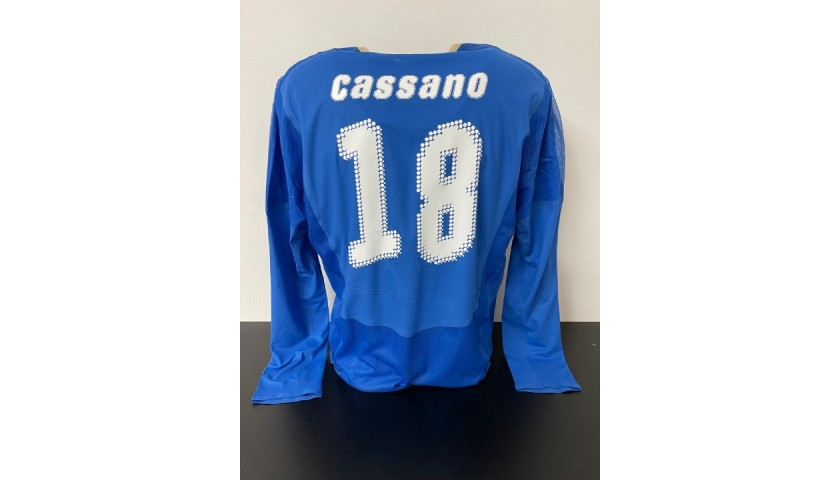 Cassano's Italy Match Shirt, 2007/08