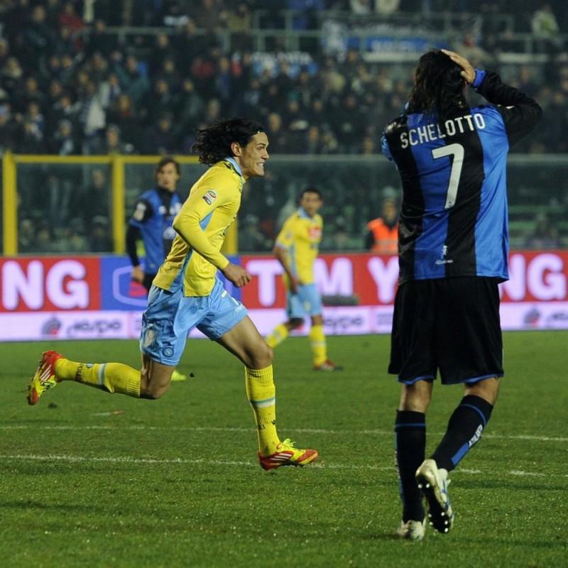 Napoli Cavani's Match Shirt, Serie a 2011/2012