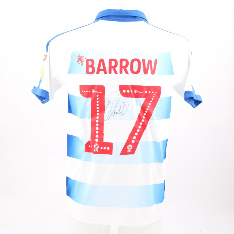 Barrow's Match-Worn Reading FC Signed Poppy Home Shirt