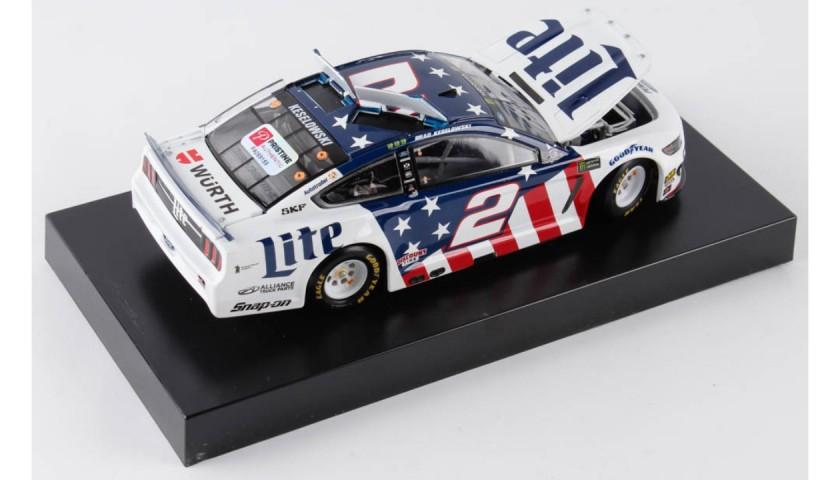 Brad Keselowski Signed 2019 NASCAR #2 Car