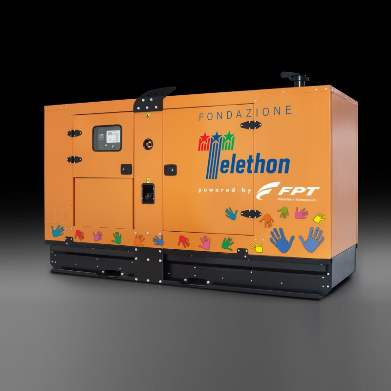 FPT Soundproof Genset for Emergency Applications