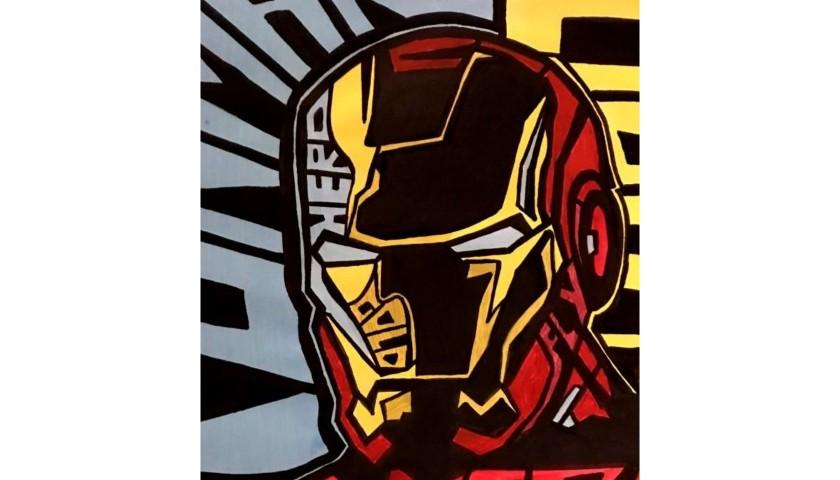 """Ironman"" Original Board by Riccardo Penati"