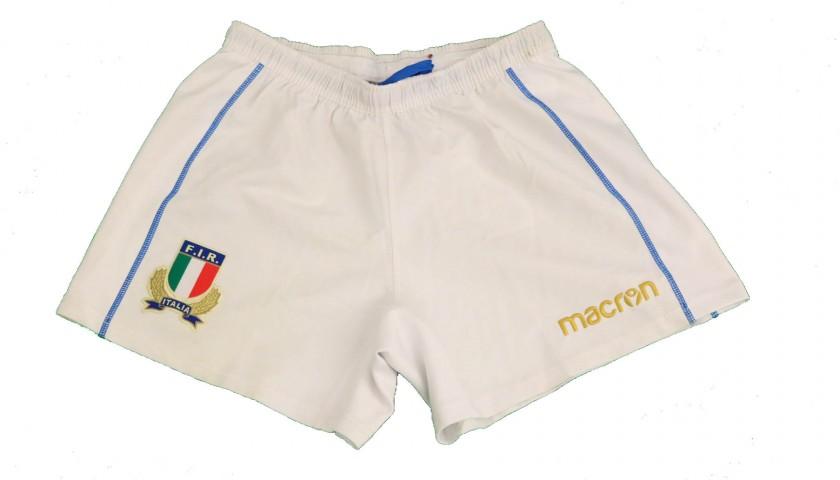 Leonardo Ghiraldini's Shorts and Socks, Japan-Italy