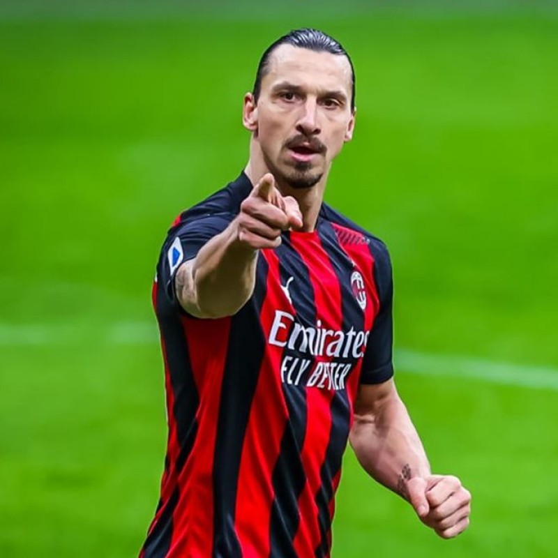 Ibrahimovic's Official AC Milan Signed Shirt, 2020/21