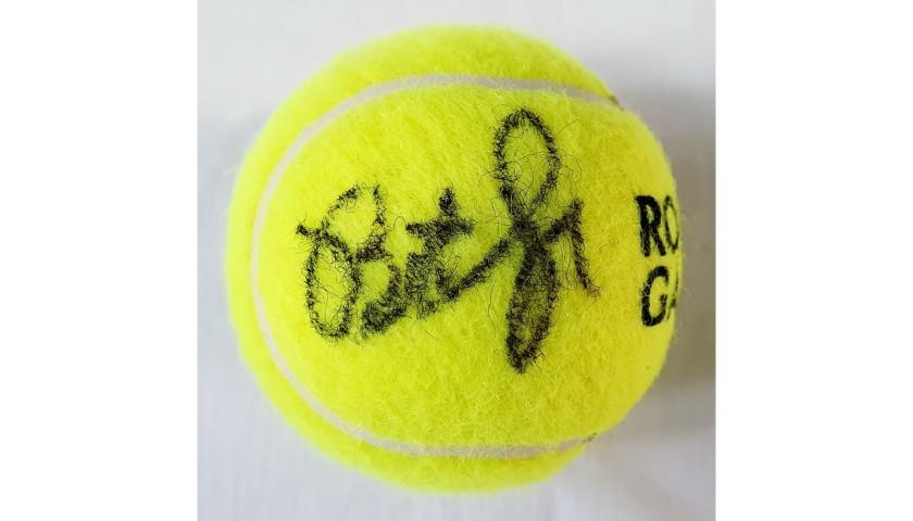 Wilson Roland Garros Tennis Ball Signed by Pete Sampras