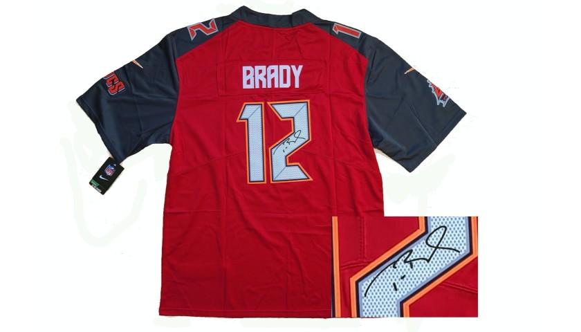 Tom Brady Bucs Jersey with Printed Signature