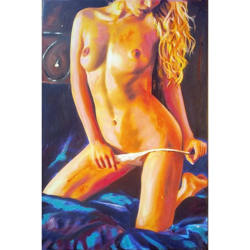 """""""Nudo su letto"""" by Antonello Arena"""