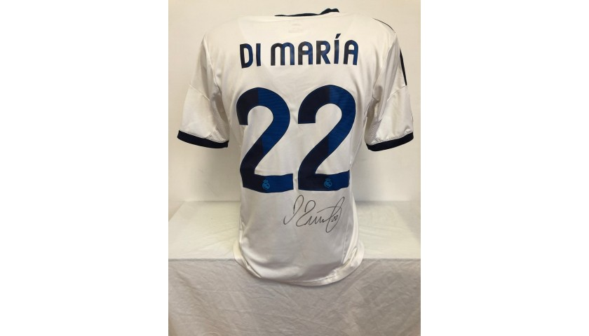 Di Maria's Official Real Madrid Signed Shirt, 2012/13