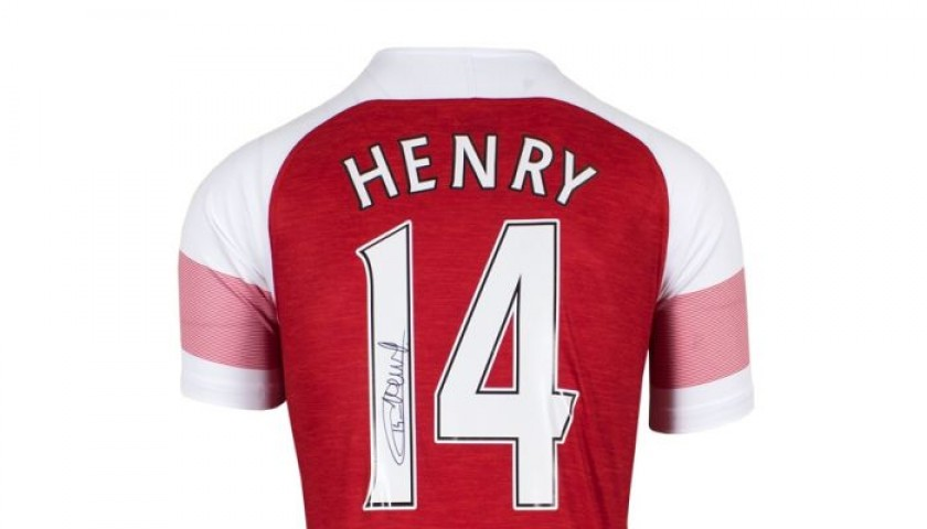 Henry's Arsenal Signed Shirt