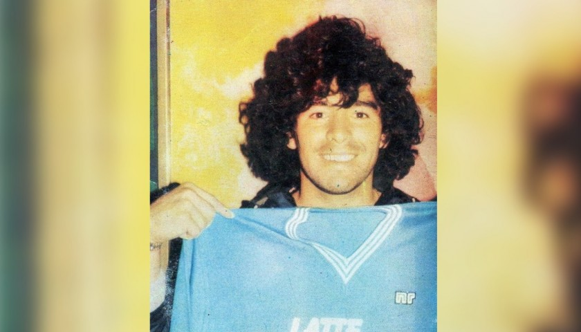 Maradona's Official Napoli Signed Shirt, 1983/84 Season