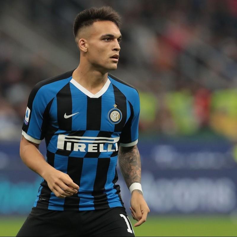Maglia Ufficiale Lautaro Inter, 2019/20 - Autografata