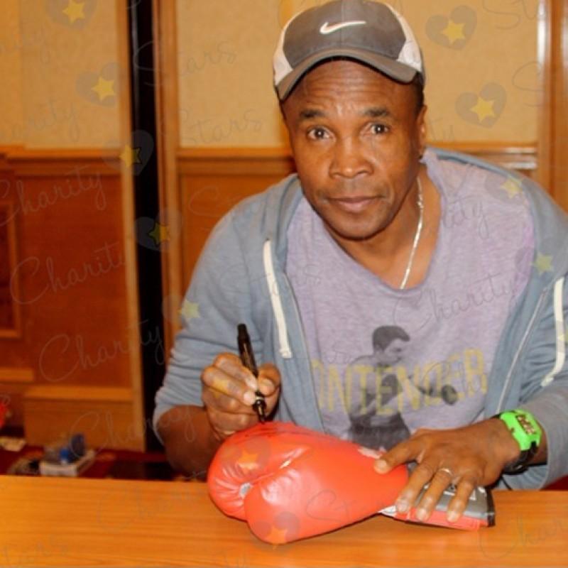 Sugar Ray Leonard Signed Boxing Glove