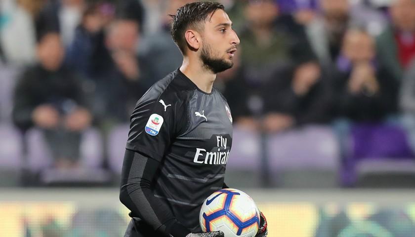 Donnarumma's Milan Match Shirt, Serie A 2018/19