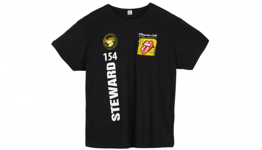 Staff T-Shirt from the Rolling Stones 2017 Tour - Lucca Summer Festival