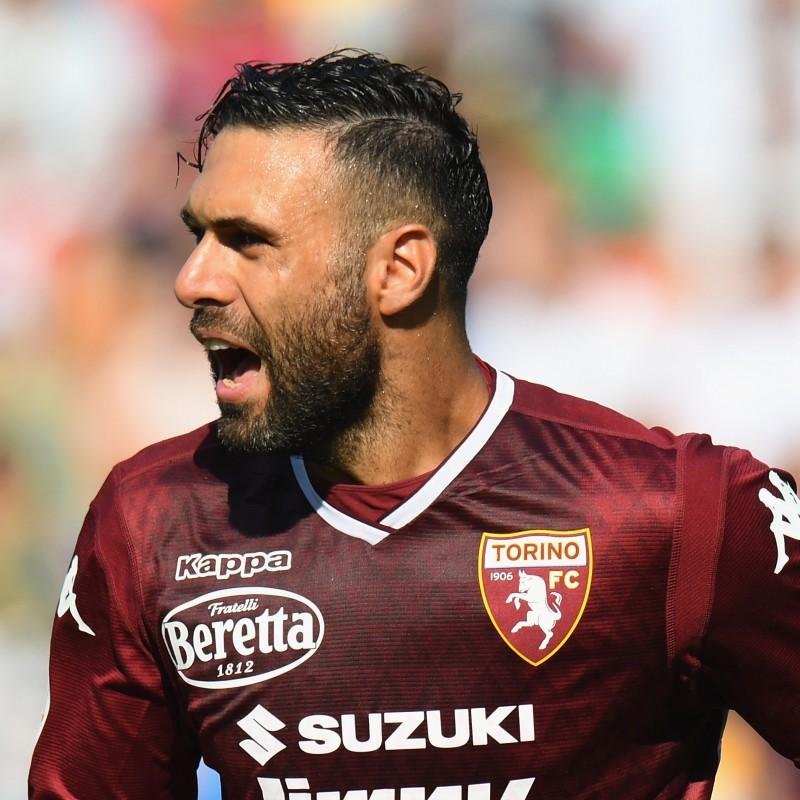 Sirigu's Torino Match-Issue Signed Shirt, 2018/19
