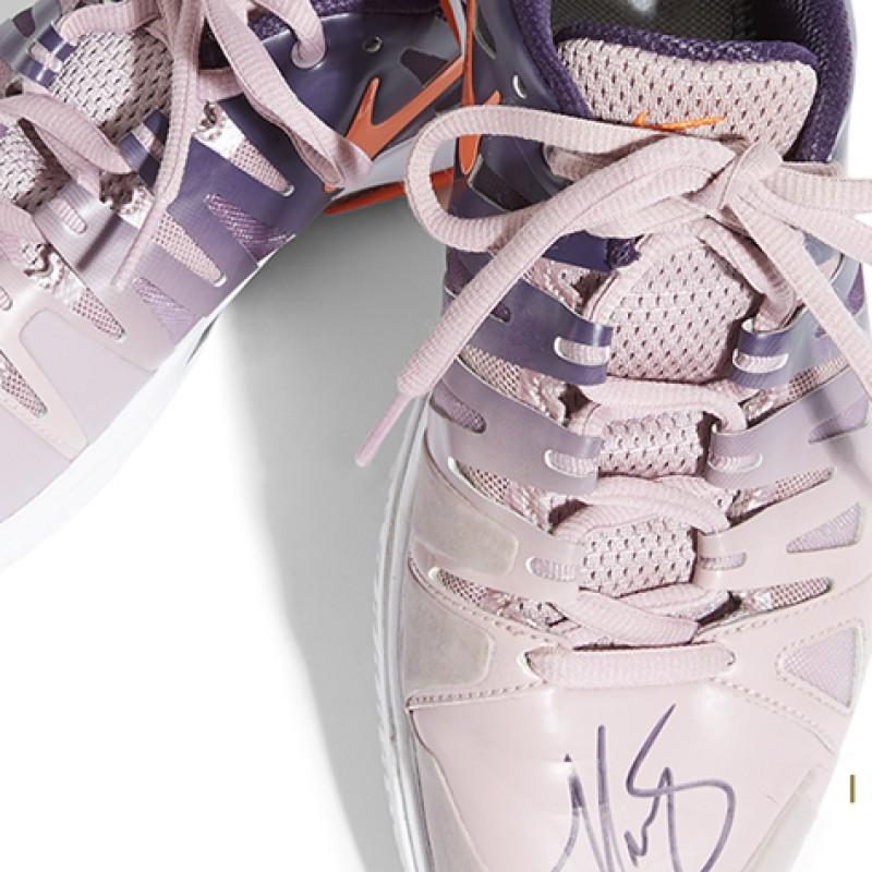 Maria Sharapova Signed Shoes
