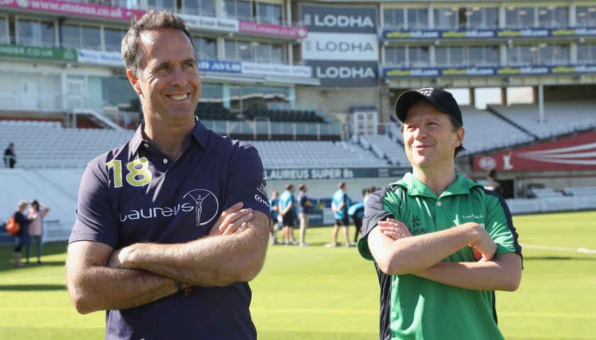 Play Cricket with Michael Vaughan