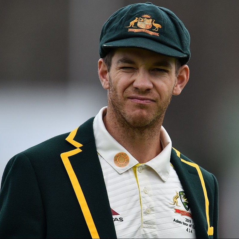 Baggy Green Signed by Tim Paine