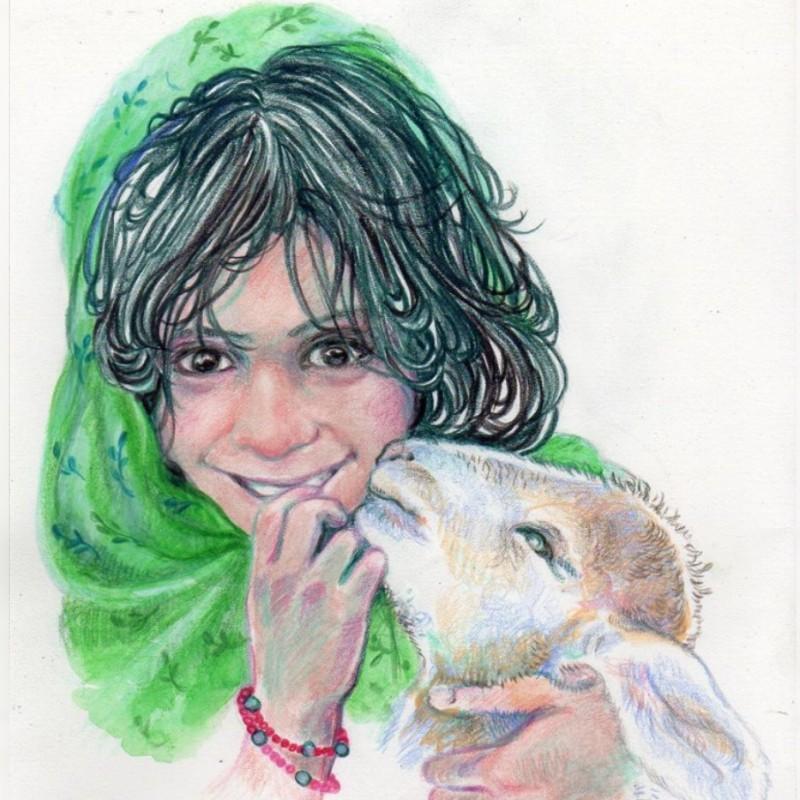 Original Artwork by Maria Nives Manara
