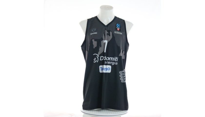 Pascolo's Trento Signed Match Jersey, 2019/20