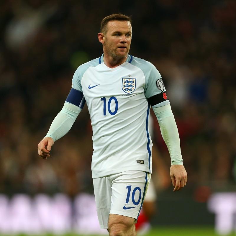 Maglia gara Rooney, Inghilterra-Scozia 2016