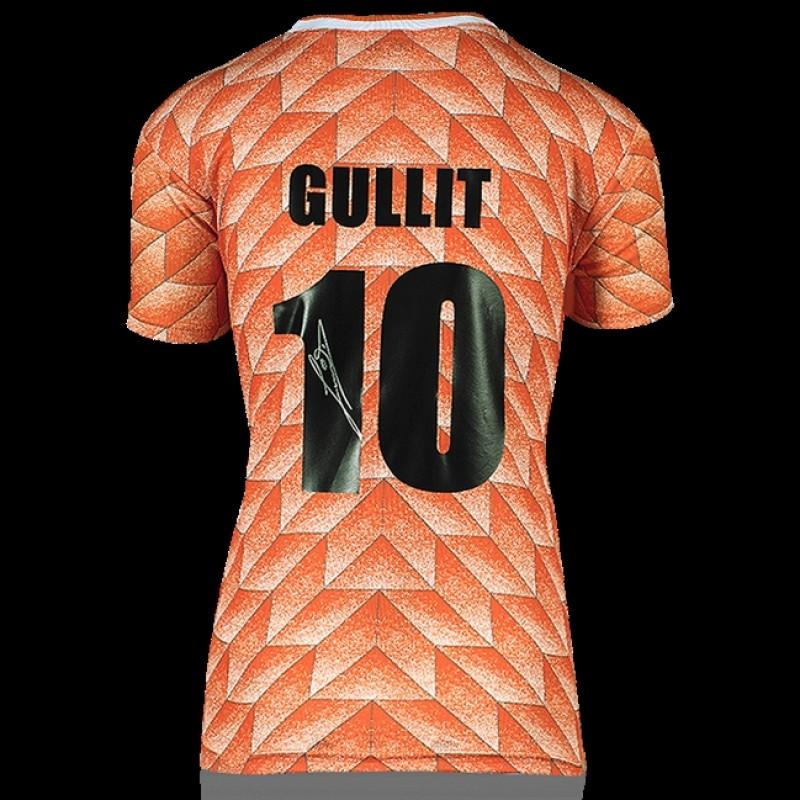 Ruud Gullit, Signed Retro Jersey 1988