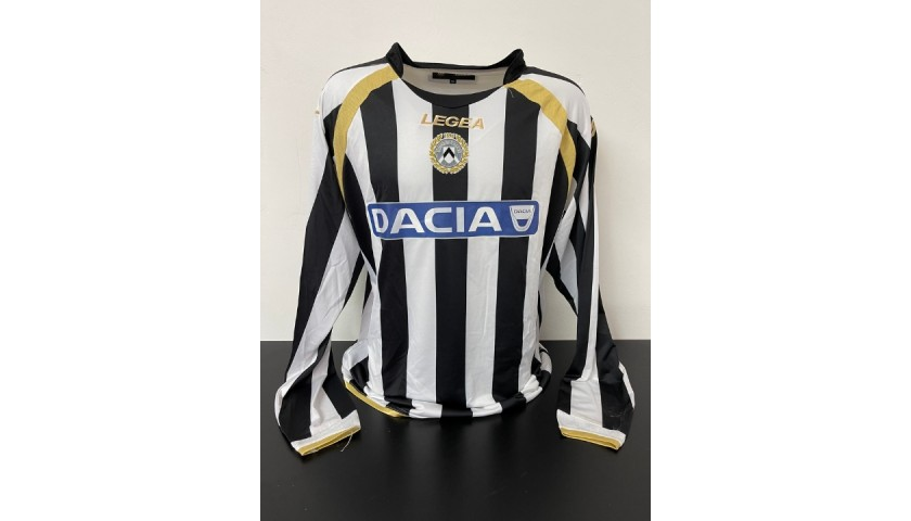 Di Natale's Udinese Match Shirt, 2010/11