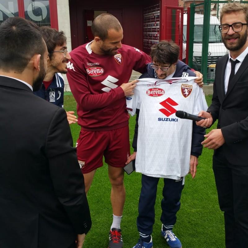 De Silvestri's Torino Match-Issue Signed Shirt, 2018/19