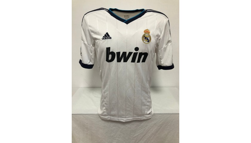 Callejon's Official Real Madrid Signed Shirt, 2012/13