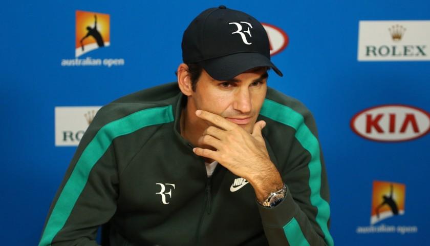 Roger Federer Official Signed Cap
