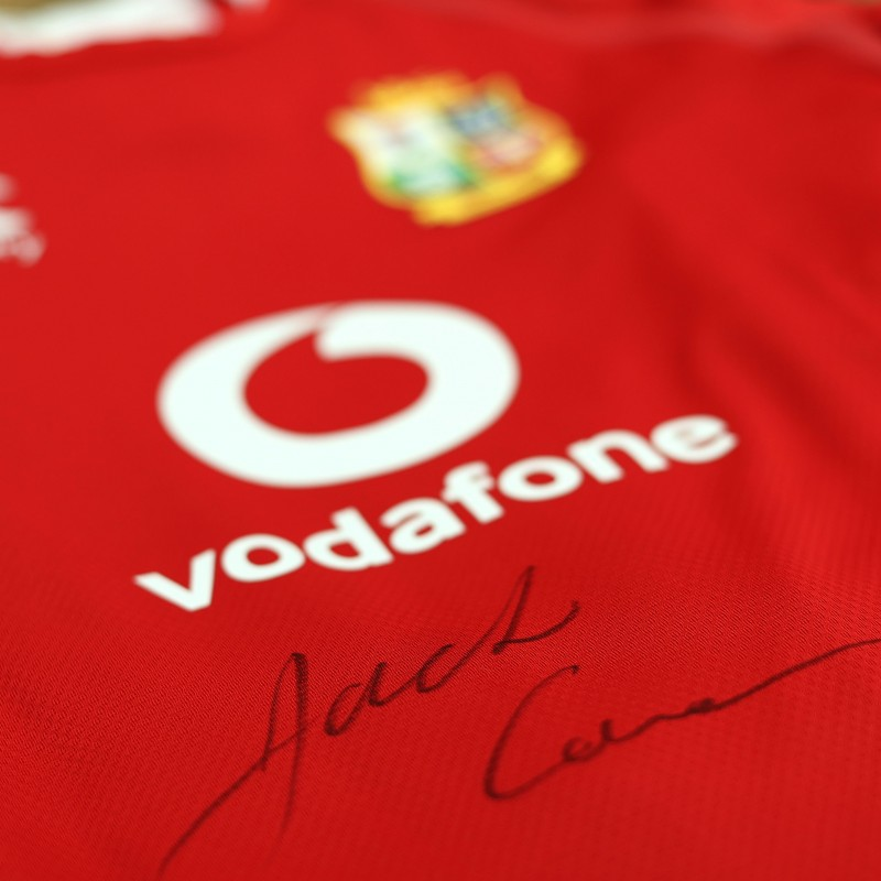 Lions 2021 Test Shirt - Worn and Signed by Jack Conan