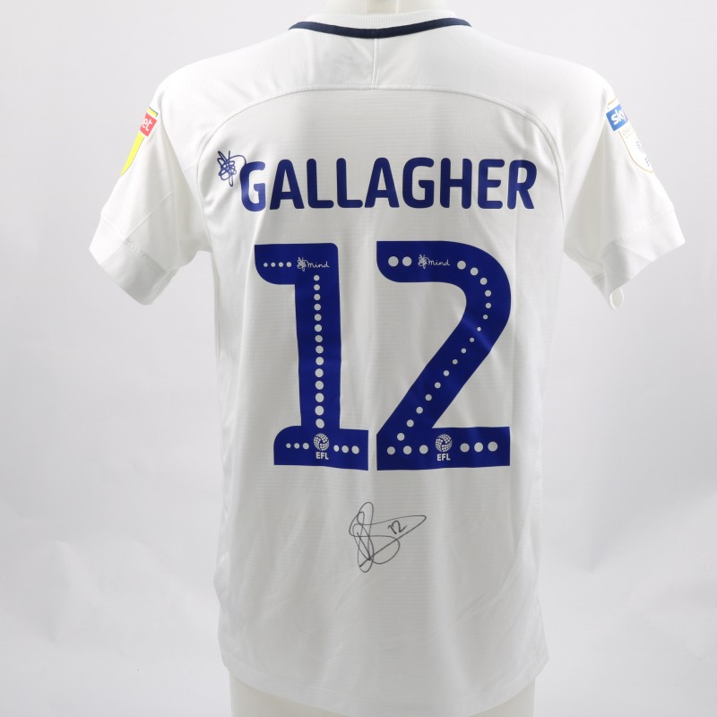 Gallagher's Preston Worn and Signed Poppy Shirt