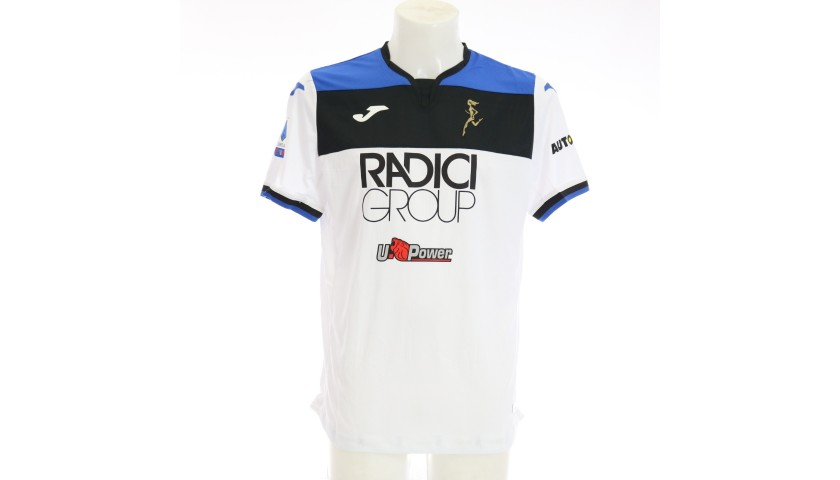 Toloi's Match-Issued Shirt, Hellas Verona-Atalanta 2020