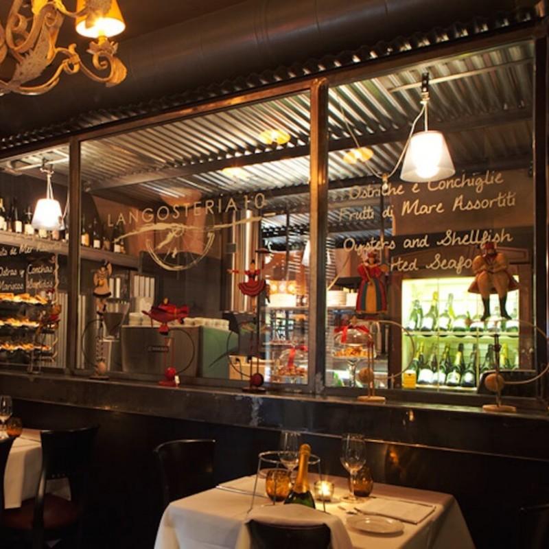 Cena per 4 persone presso il ristorante Langosteria di Milano