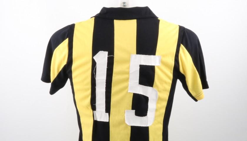 Rodolfo Abalde Match Worn Shirt, Milan-Penarol 27/06/1981