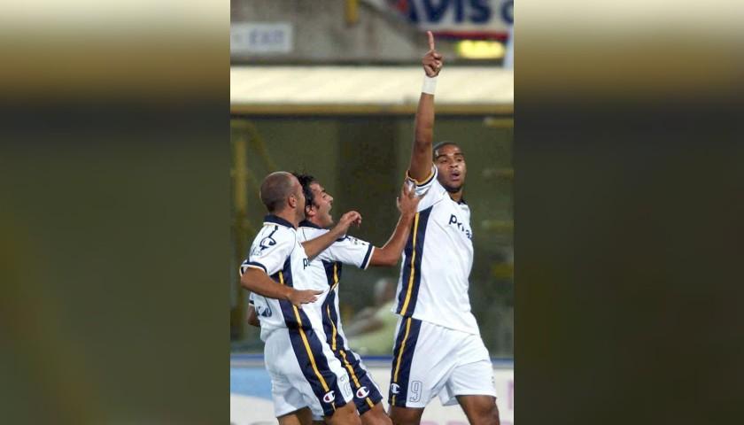 Adriano's Parma Signed Match Shirt, 2003/04