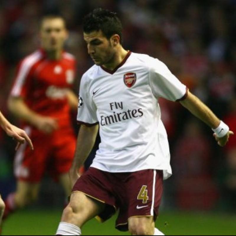 Fabregas' Official Arsenal Signed Shirt, 2007/08