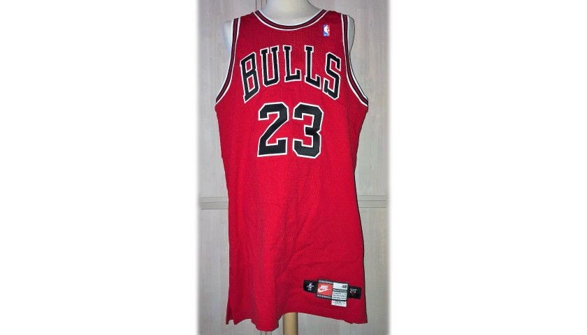cheap for discount 1867d e37c7 Chicago Bulls Jersey Issued to Michael Jordan - CharityStars